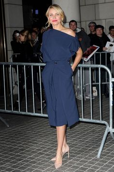 The Other Woman Premiere, New York - April 24 2014  Cameron Diaz in Vionnet