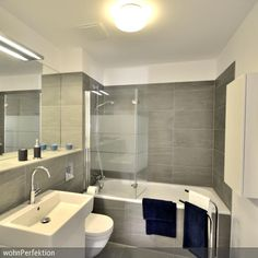 bad fliesen grau | bathroom | pinterest, Hause ideen