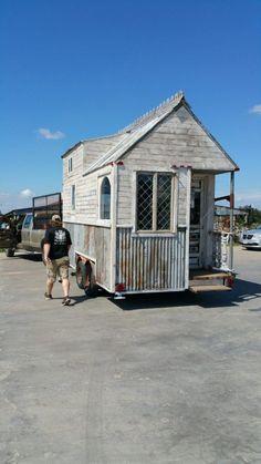 Texas Tiny Reclaimed Home