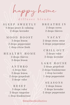 Calming Stress + Spring Diffuser Blends - The Inspired Room Young Living Oils, Young Living Essential Oils, Calming Oils, Aromatherapy Oils, Yl Oils, Essential Oil Diffuser Blends, Diffuser Recipes, Stress And Anxiety, Spring Weather