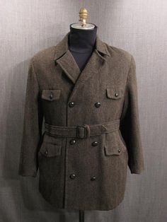 The Norfolk Jacket was a loose, belted, single-breasted jacket with box pleats on the back and front