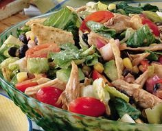 Tex-Mex Salad (Recipe) - Tales of a Ranting Ginger