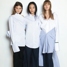 Before the runway @VAMFF last night  Shop all new season shirting straight from the show online now