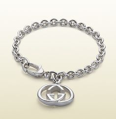 564990d47686 Gucci - bracelet with interlocking G motif charm. 190501J84008106  http   www.