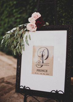 wedding monogram @weddingchicks