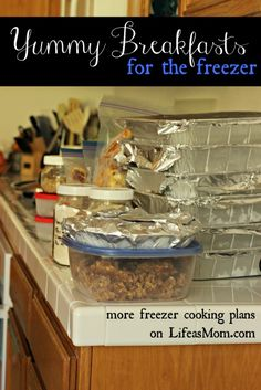 Freezer Cooking : Yu