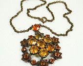 Art Deco Gilt Vintage necklace