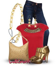 """""""""""Wonder Woman"""" Super Hero Contest"""" by lv2create on Polyvore"""