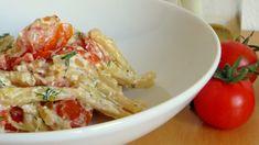 Baked Feta Pasta: Leckeres Rezept für Pasta aus dem Ofen Feta Pasta, Pasta Salad, Delicious Vegan Recipes, Gnocchi, Cabbage, Brunch, Food And Drink, Meat, Dining