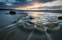 'Surrounded' - Traeth Penllech, Llyn Peninsula  by Kristofer Williams