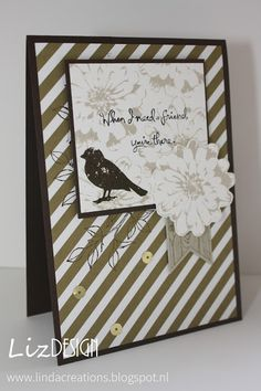 LizDesign Stampin Up Choose Happiness Card