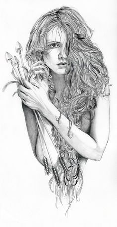 Pencil drawing is my favorite.