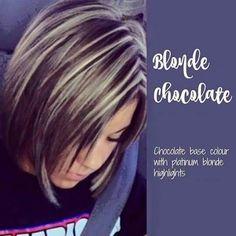 Blonde chocolate