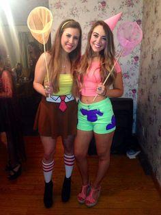 Spongebob and Patrick best friends costume Cosplay girls