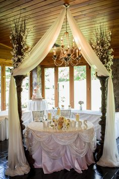 Outdoor weddings in vancouver bc wedding image hanamo florist sweet heart table decor from my wedding junglespirit Images