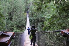 Capilano Suspension Bridge, Vancouver BC
