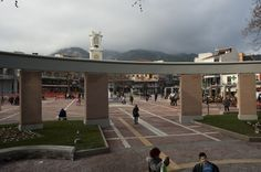 Central Square/Κεντρική πλατεία.