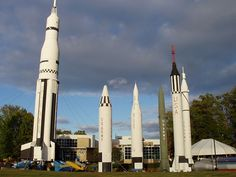 """March 17, 1970: The Alabama Space and Rocket Center in Huntsville is dedicated, with Wernher von Braun calling it """"a graphic display of man's entering into the cosmic age."""" Now known as the U.S. Space and Rocket Center, visitors tour the museum, which includes rockets and spacecraft, and participate in activities like Space Camp."""