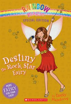 Rainbow Magic Special Edition: Destiny the Rock Star Fairy #read11books