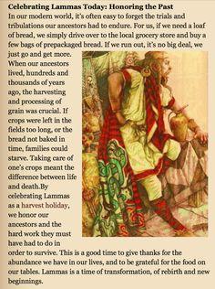 Celebrating Lammas today