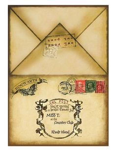 Free Printable Harry Potter Party Blank Parchment A4 Size Crafts