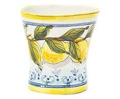 Vaso in terracotta Limoni - 17x17x17 cm