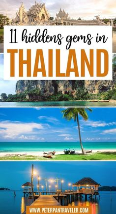 11 Hiddens Gems in Thailand. Here are the 11 Best Hidden Gems in Thailand, some of Thailand's best-kept secret. Explore the small islands, beautiful beaches, great local restaurants, famous lakes, amazing people and so many beautiful places to see and do. Hidden Gems in Thailand | Thailand Hidden Gems | Thailand Secret Spots | Secret Places in Thailand | Where to go in Thailand | What to do in Thailand | Places to Visit in Thailand | Thailand Travel Thailand Adventure, Thailand Travel Guide, Adventure Travel, Thai Islands, Japanese Travel, Backpacking Asia, Travel Reviews, Secret Places, Amazing People