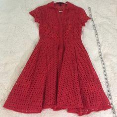BCBGMAXAZRIA dress 100% cotton. lining: 100% polyester BCBGMaxAzria Dresses