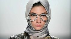 A collection presented at New York Fashion Week is thought to be the first time every model walked the event's runway wearing a hijab.