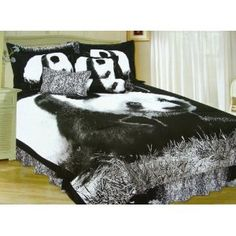 panda bedding twin
