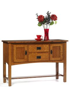 Amish Furniture | Amish Sideboards | New Classic Mission | Foyer