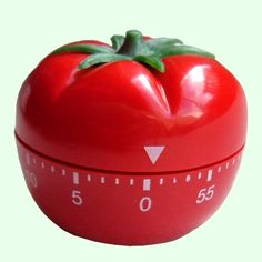 TIMER | Bright & cheerful apple kitchen timer with 60 minutes ...