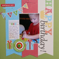Scrapbook and card sketches created by Valerie Salmon. Birthday Scrapbook Layouts, Baby Scrapbook, Scrapbooking Layouts, Bee Design, Sketch Design, Epiphany Crafts, Happy Birthday Boy, Unity Stamps, Photo Layouts