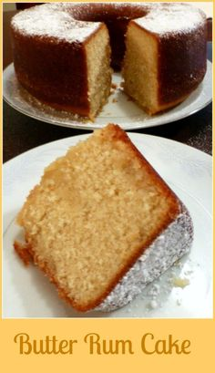 Butter Rum Cake – Skinny Sweets Daily