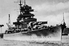 Bismarck German Ww2 Battleship-ww2shots-navy