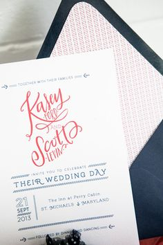 wedding invite - like the font