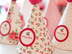 Fun Party Hats for girls parties