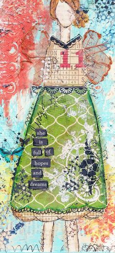 nanette isn't this art journal neat she uses multi mediums read her blog i think she has workdhops on line you should do it