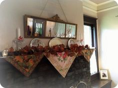 Autumn mantel decor 2011 | Flickr - Photo Sharing!
