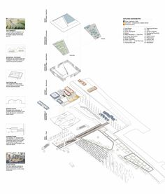 """SWARM's """"The Hudson Exchange"""" design proposal for the Emerging New York Architects Competition"""