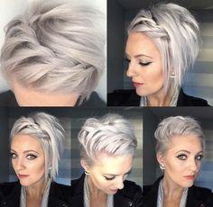 50 Façons Pour Tresser vos Cheveux Courts | Coiffure simple et facile