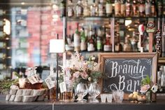 Brandy/Bourbon Bar.