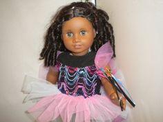 American Girl or 18 Inch Doll Sparkly by RitasClosetForDolls