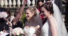 Rose Ellen Dix and Rosie Spaughton's wedding. Romantic Couples, Cute Couples, Skool Luv Affair, Rose And Rosie, Gay Aesthetic, Lesbian Wedding, Girls In Love, Love And Marriage, Marry Me