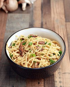 Vegan Spaghetti Carbonara by Tasty