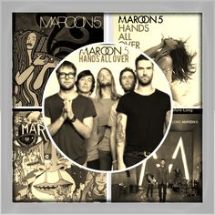 My Maroon 5 CD collection