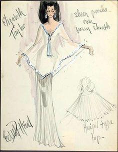 Elizabeth Taylor by Edith Head