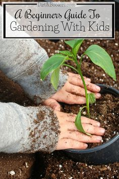 I'm so lost on how to garden with my kids.  These gardening tips should help.