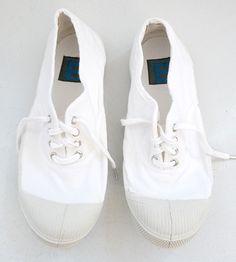 White Bensimon Sneakers