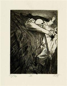 Überfall einer Schleichpatrouille By Otto Dix ,1924